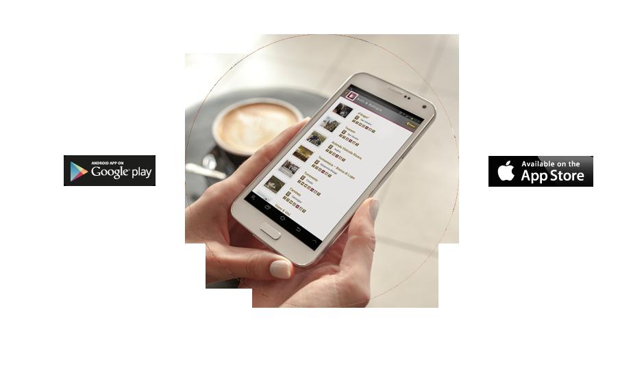 Scegli le nostre app per gustare la Puglia